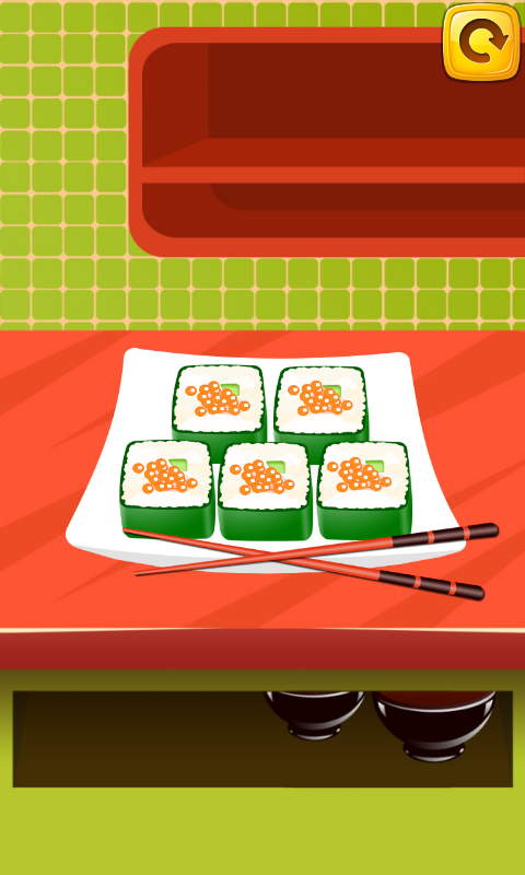 寿司厨师截图