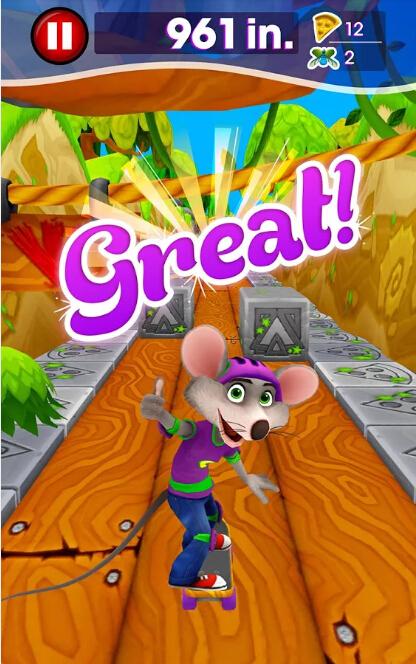 老鼠查克滑板世界