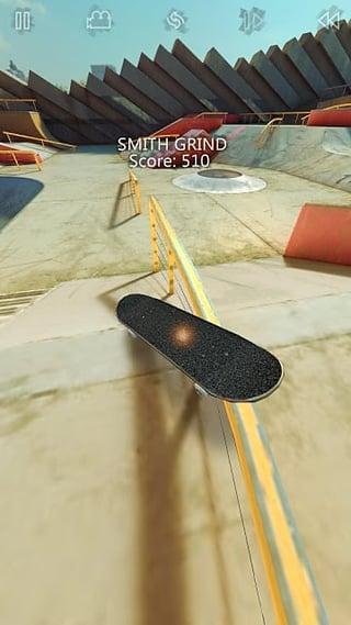 真实滑板截图