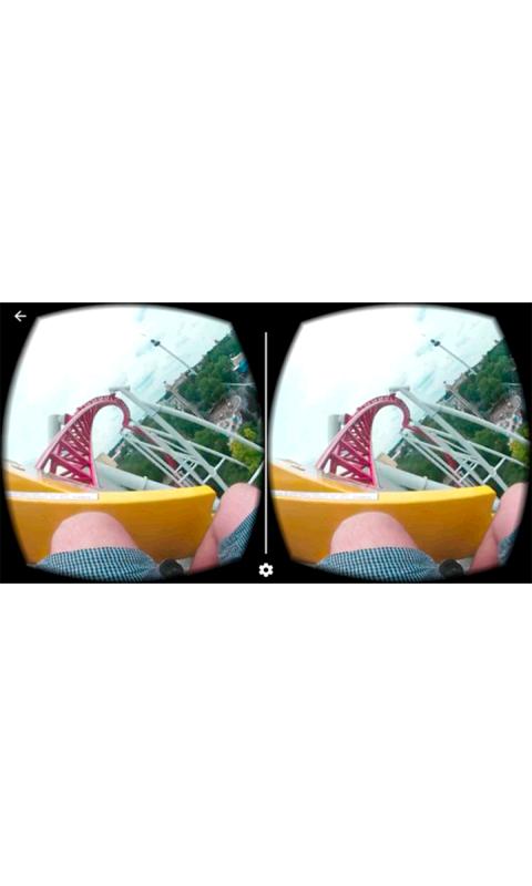 VR过山车截图