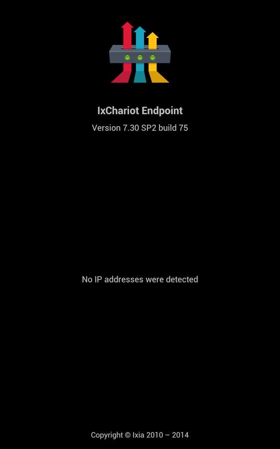IxChariot Endpoint截图
