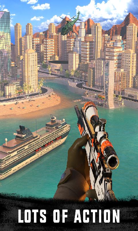 3D狙击刺客:自由猎杀截图
