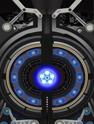 钢铁侠主题桌面锁屏图片