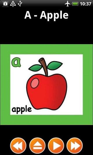 ABC儿童抽认卡