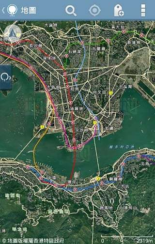 香港地理截图