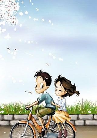 爱情角_幸福爱情树动态壁纸