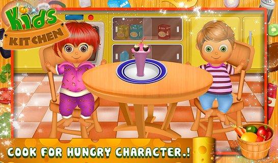 儿童厨房 - 烹饪游戏截图