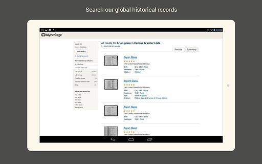 MyHeritage截图