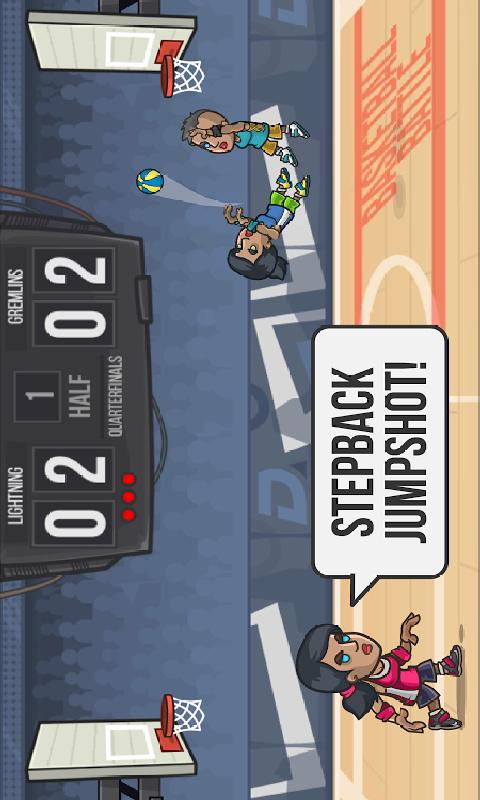 篮球战斗截图