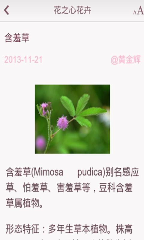 花之心花卉截图