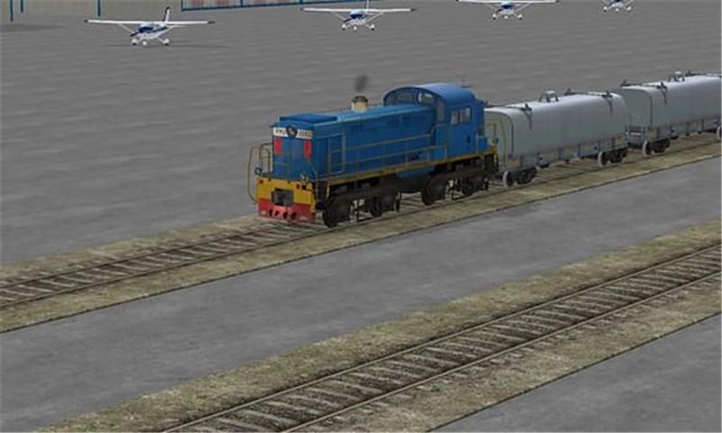 3D火车模拟截图