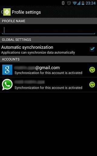 Accounts Sync Profiler