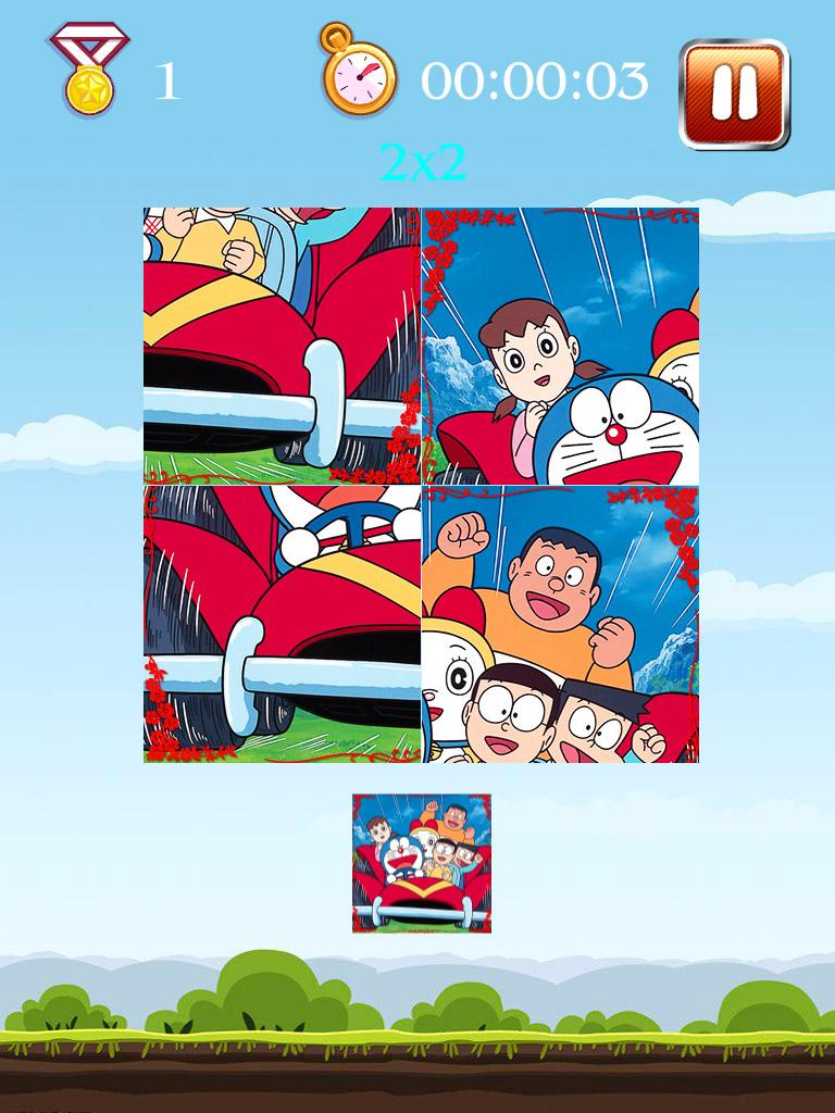 哆啦A梦儿童拼图