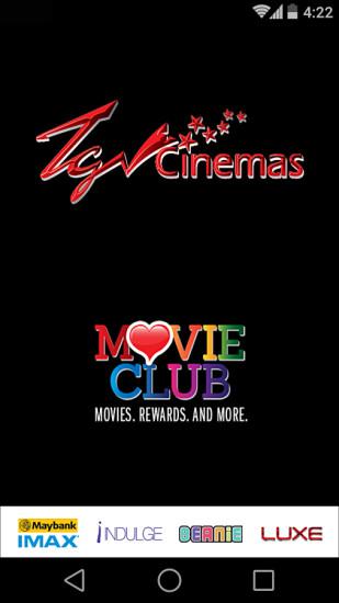 TGV Cinemas截图