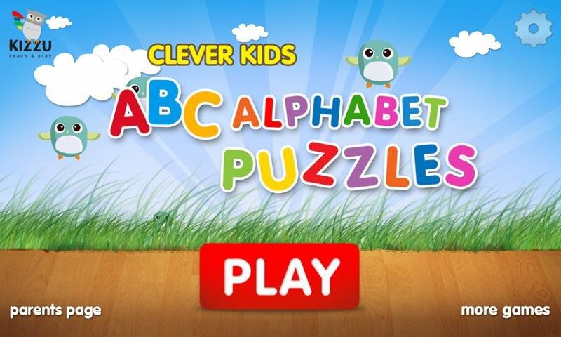 儿童 ABC的字母拼图免费