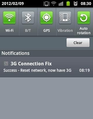3G connetion Fix Free截图