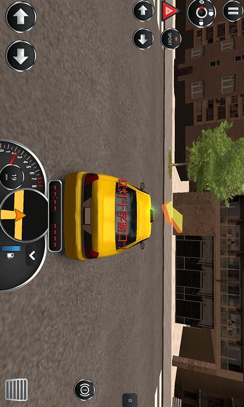 模拟出租车2016中文版截图