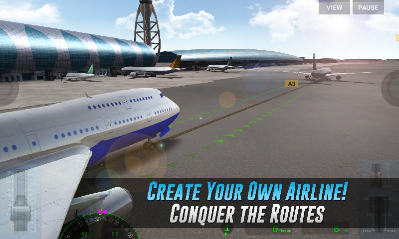 真实飞行体验截图