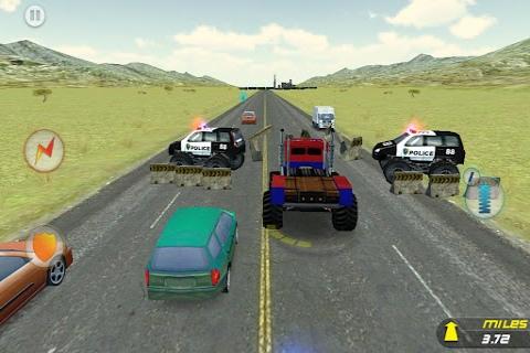 疯狂怪物卡车:逃逸