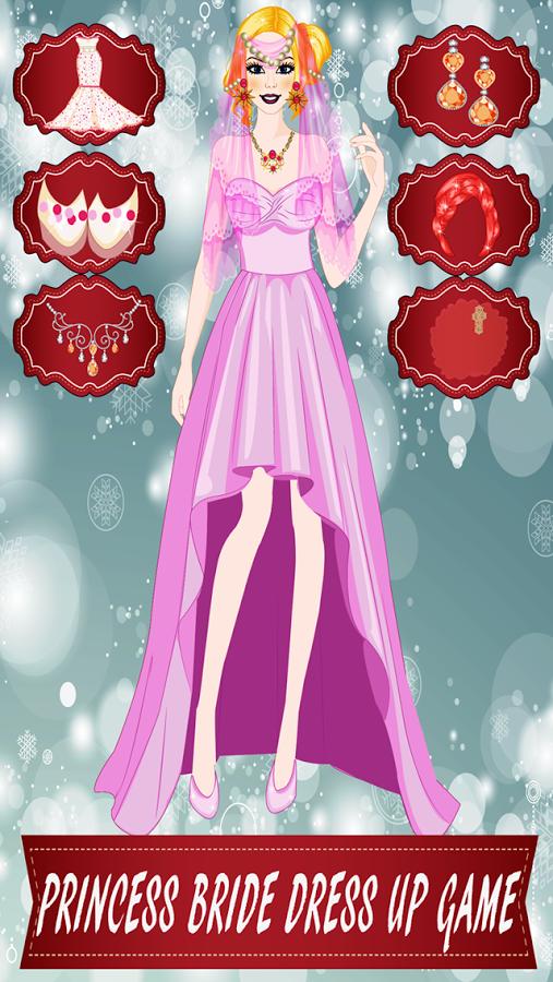 公主新娘装扮游戏图片