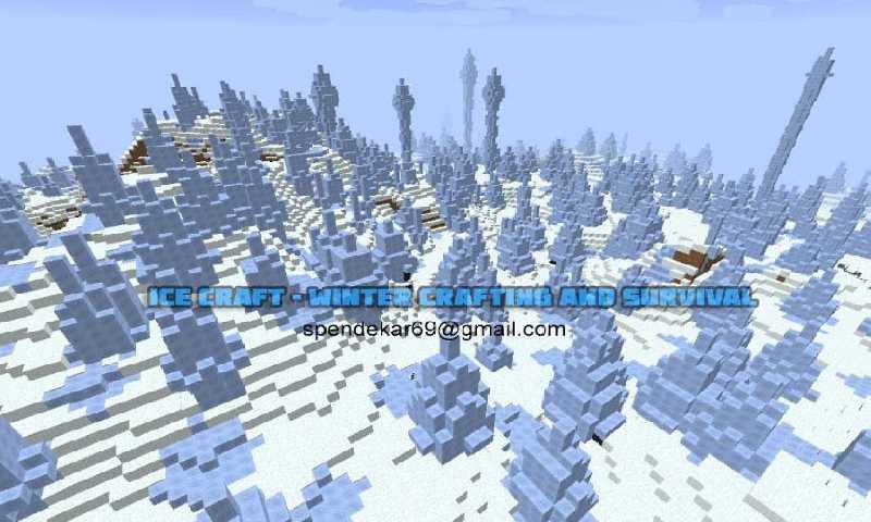 我的世界冬季版截图