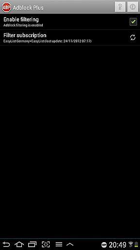 Adblock广告屏蔽器增强版截图