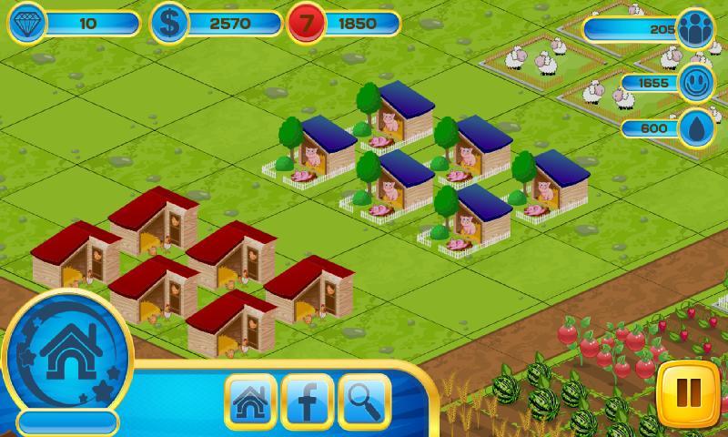 农场栅栏:乡村故事截图