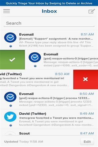现代移动电子邮件