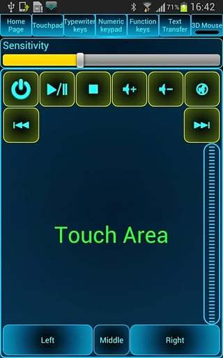 电脑遥控器截图