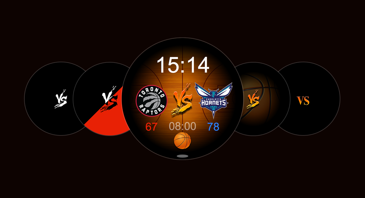 NBA表盘
