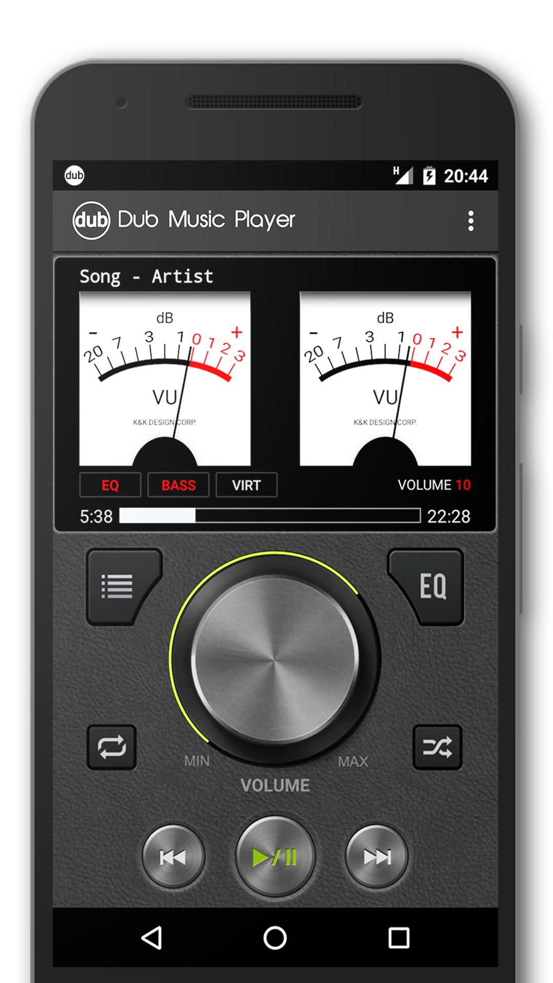 Dub音乐播放器截图