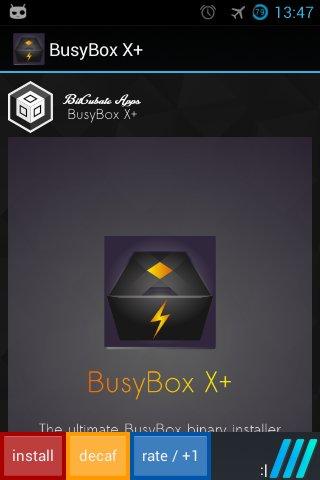 BusyBox X+