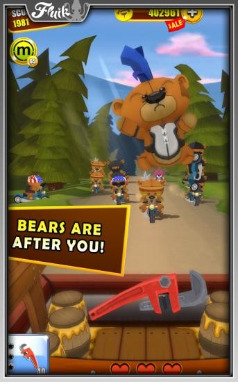 暴熊大战 无限金币版