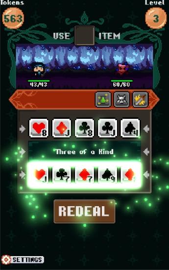 像素扑克对战截图