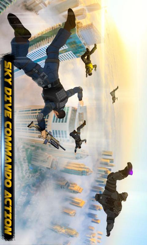军事跳伞:吃鸡行动截图
