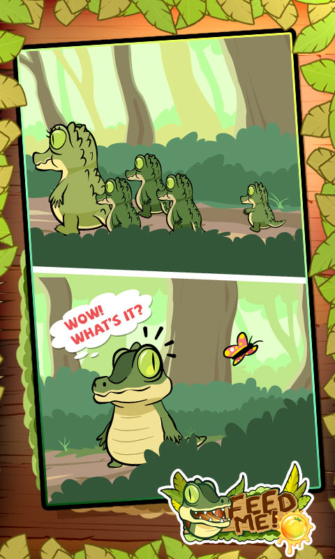 水果鳄鱼截图
