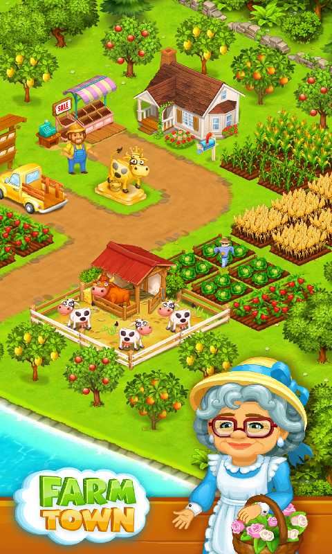 农场:农村之快乐故事截图