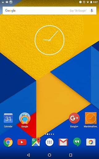 Nexus 4时钟