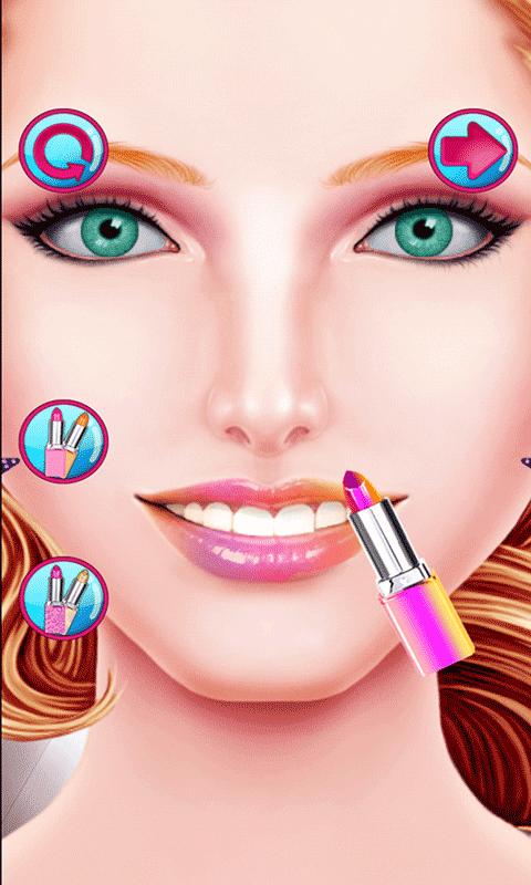 唇彩化妆截图
