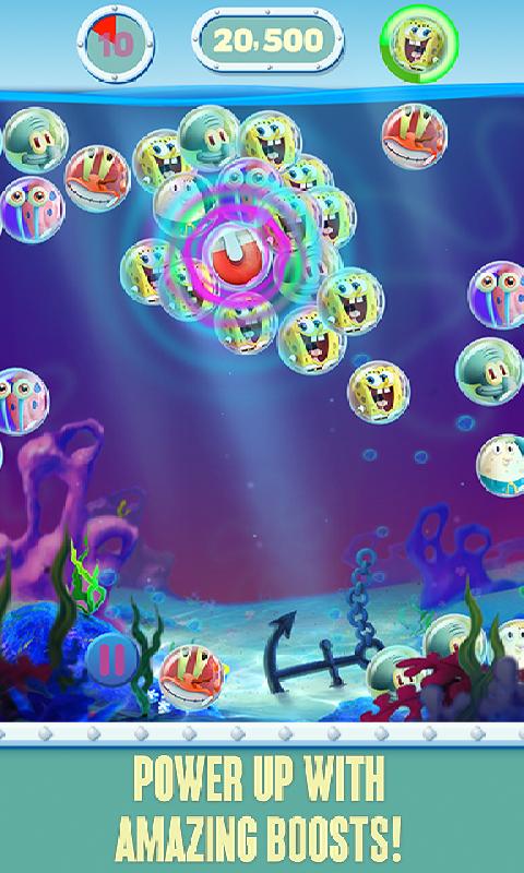海绵宝宝泡泡派对截图