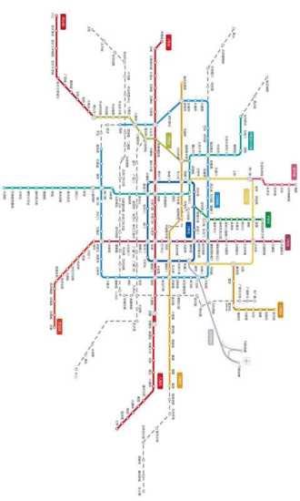 北京市最新地铁图高清版图片