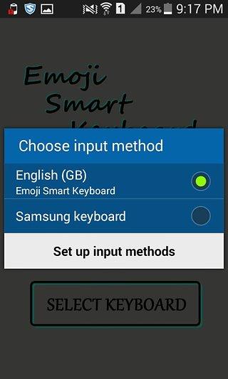 Android的绘文本键盘