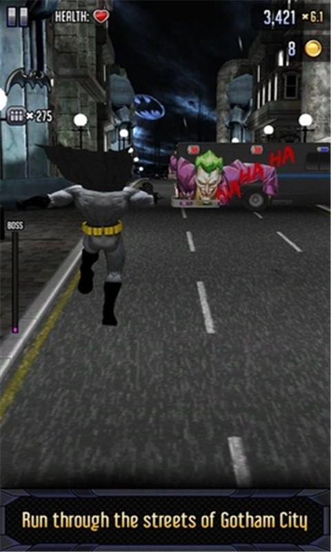 蝙蝠侠与闪电侠:英雄跑酷 无限金币版
