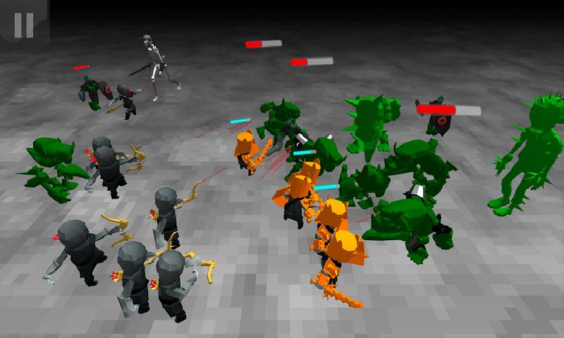 僵尸战斗模拟器截图