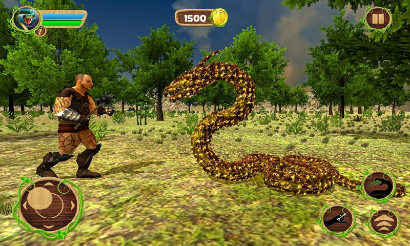 愤怒的蛇模拟器截图