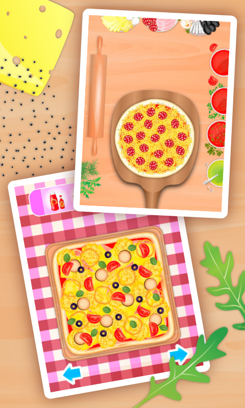 动手做披萨截图