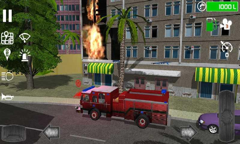 城市消防车截图