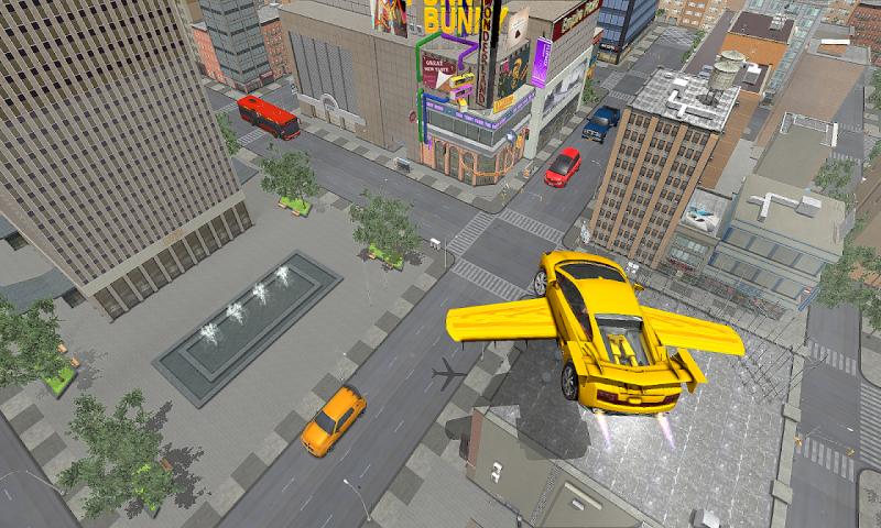 飞行跑车模拟器截图