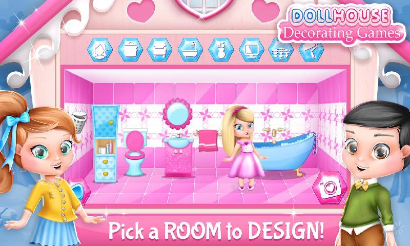 娃娃屋装修游戏截图