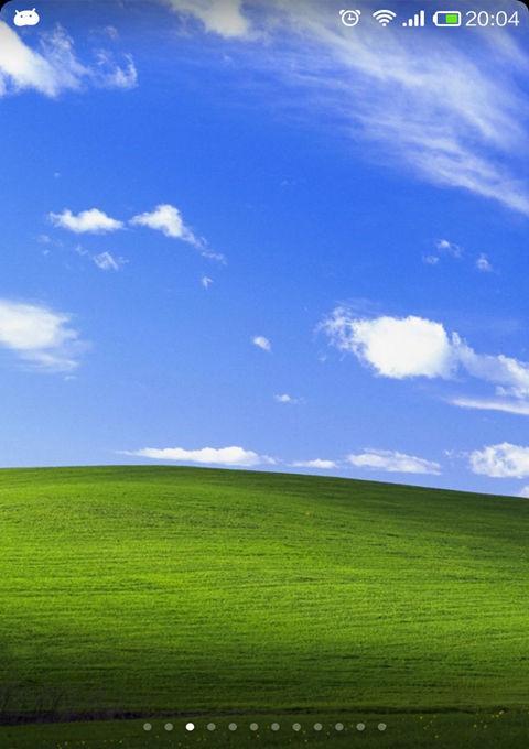 windows主题xp锁屏图片